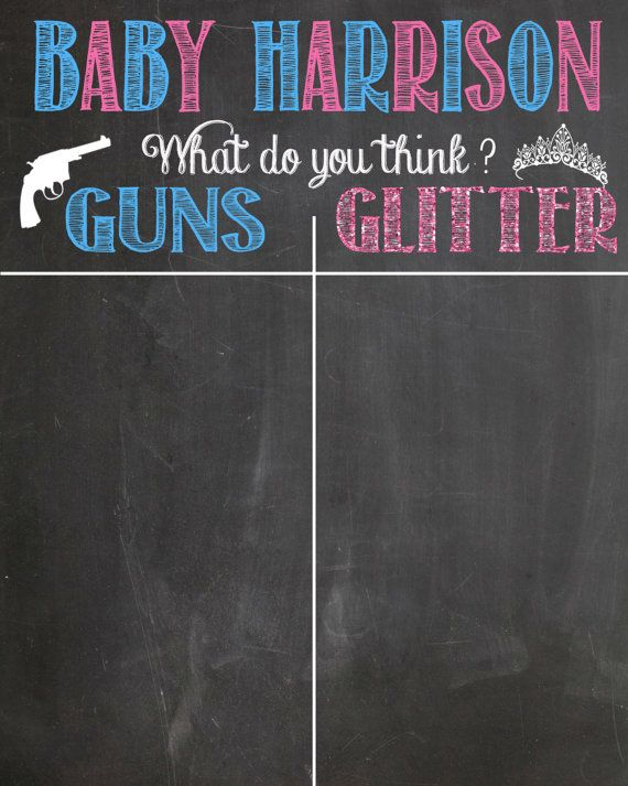 Hey, I found this really awesome Etsy listing at https://www.etsy.com/listing/217553182/guns-or-glitter-gender-reveal-guest