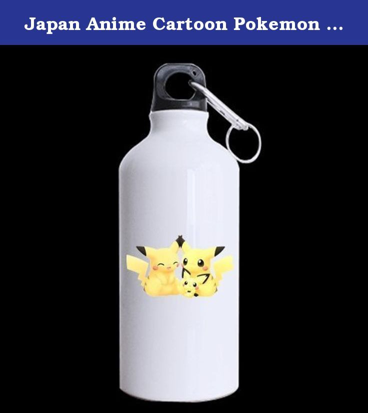Japan Anime Cartoon Pokemon Cute Pikachu Custom Travel Mug Sport Bottle Cup 13.5 OZ Office Home Cup (Printed on two sides). Exclusive design, classic phone case.