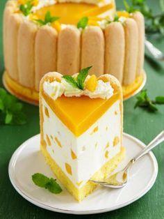 Recette de Charlotte abricots et fromage blanc