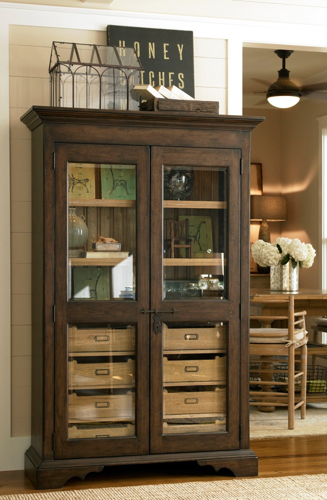 Universal Furniture   Paula Deen Home   Dish Pantry In Molasses, Available  At Furnitureland South. Glass Front CabinetsPaula DeenKitchen ...