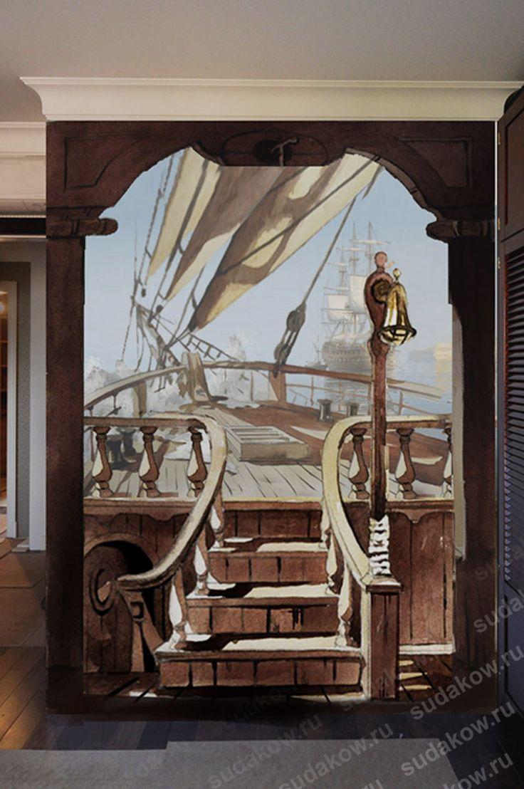 1001 best murales 1 images on pinterest wall murals mural ideas google wall muralspirate shipsmurals