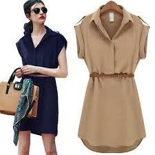 Image result for shirt dress belt