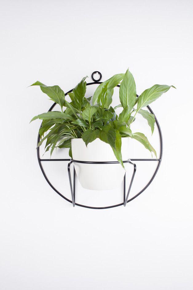 Spraw sobie kwietnik, zaproś roślinę i stwórz domową dżunglę pełną radości!  Design  Wiszący kwietnik ścienny z kolekcji Cosmo o czystych, geometrycznych kształtach. Wyglądem nawiązujący do...
