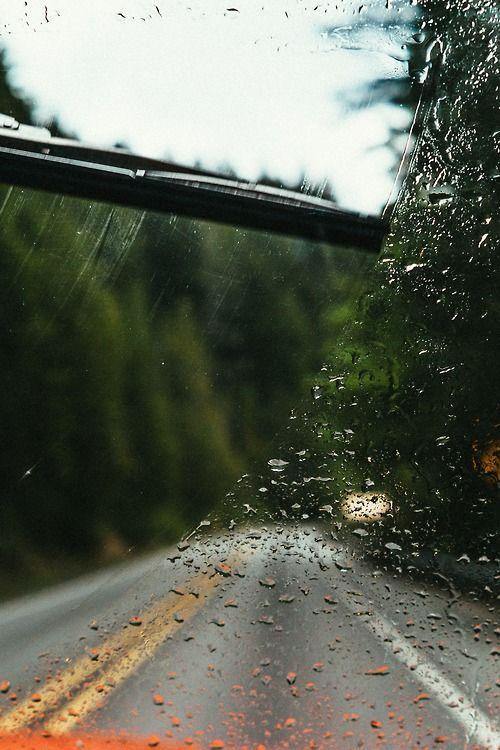 drive in the rain