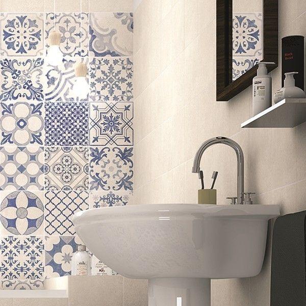 Realonda Skyros Deco Blanco 44×44 – Decorados.de - Fliesen Online Shop