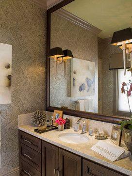 mirrormate frame in pemaquid dark bronze was added to an unframed grade mirror by