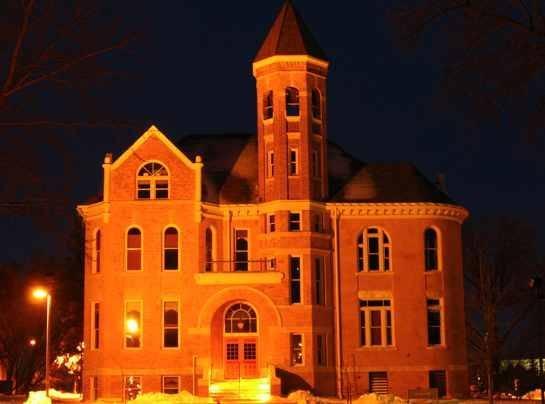 my school Northwestern College, Orange City, Iowa-- Zwemer Hall