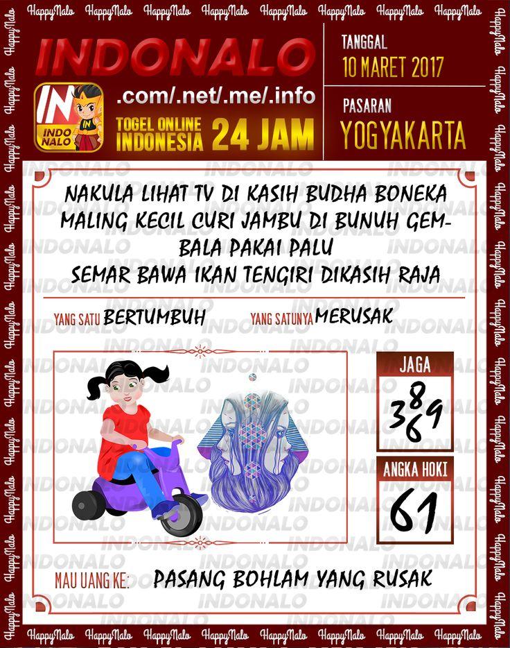 Kode Alam 2D Togel Wap Online Indonalo Yogyakarta 10 Maret 2017
