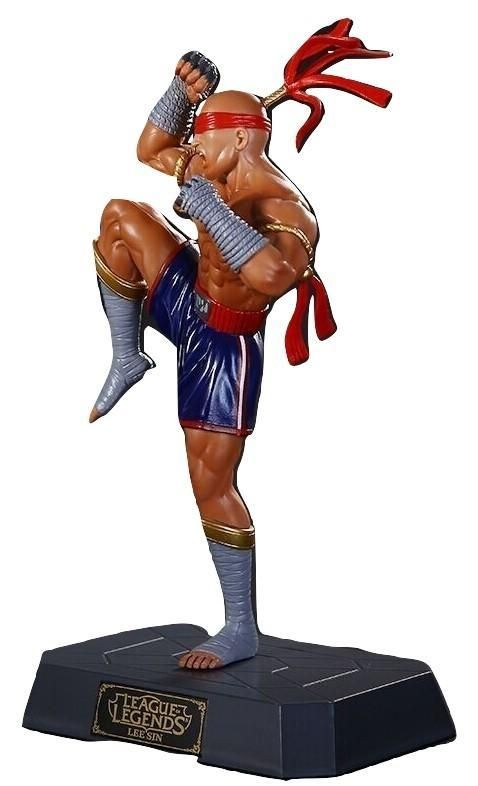 League of Legends LoL Lee Sin Muay Fighter PVC Game Figure    #League of #Legends #LoL #Lee #Sin #Muay #Fighter #PVC #Game #Figure