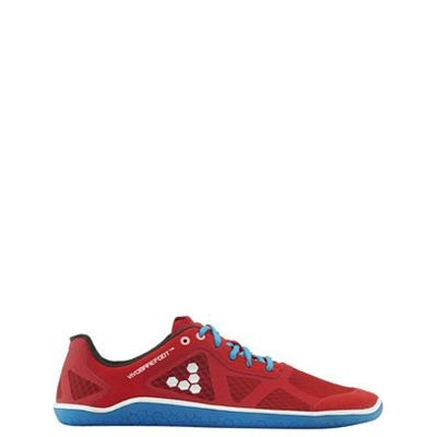 Vivobarefoot One Performance shoesin Red & Blue