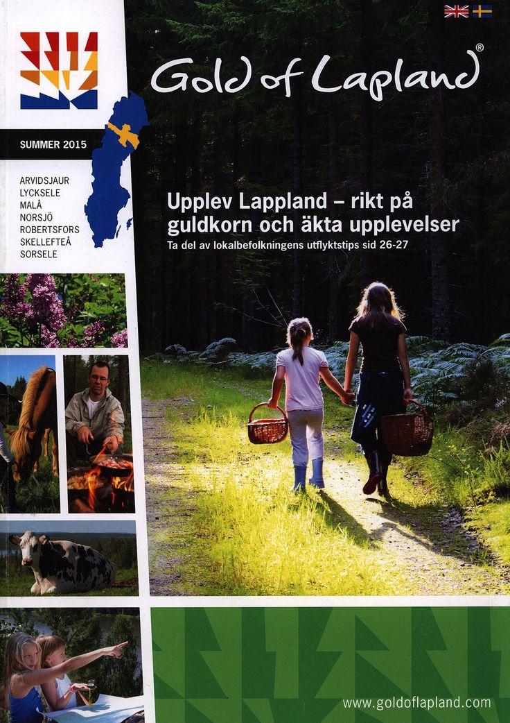 https://flic.kr/p/FKCyDD | Gold of Lapland Summer 2015 - Arvidsjaur, Lycksele, Malå, Norsjö, Robertsfors, Skellefteå, Sorsele; Vasterbotten, Sweden | tourism travel brochure | by worldtravellib World Travel library