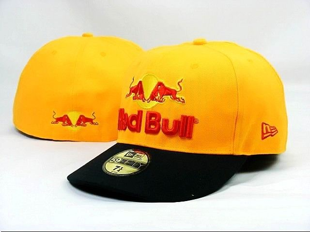 Red Bull Fitted Hats 003