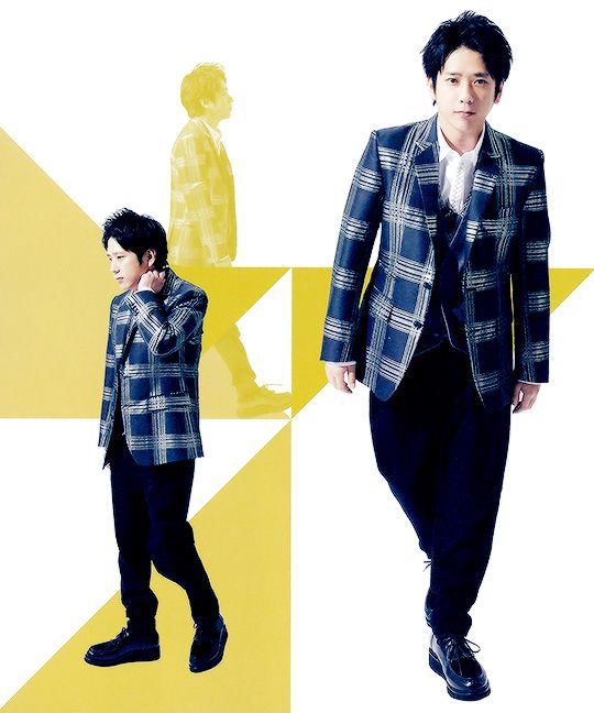 Arashi essential SAKUMOTO & JUNBA by jun aiba sho
