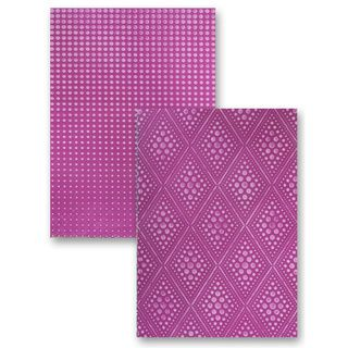 Spellbinders M-Bossabilities A4 Paper Embossing Folder-Graduated Dots