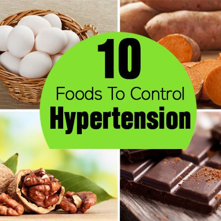 Hypertension Diet – 10 Foods To Control Hypertension In A Natural Way