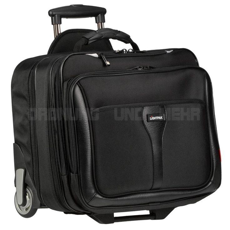 Business Piloten Akten Reise Laptop Koffer Trolley LiGHTPAK BRAVO 2 NEU Rollen