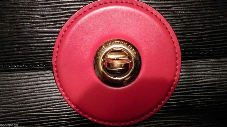 Authentique Louis Vuitton SAC Friedland Cuir ÉPI Couleur Noir ET Rouge Vintage | eBay