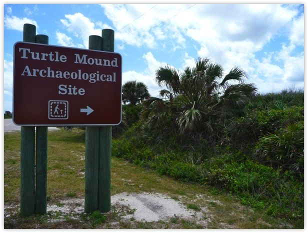 If you're spending the day at Canaveral National Seashore in New Smyrna Beach, Florida, build in some time to stop by the historic Turtle Mound.
