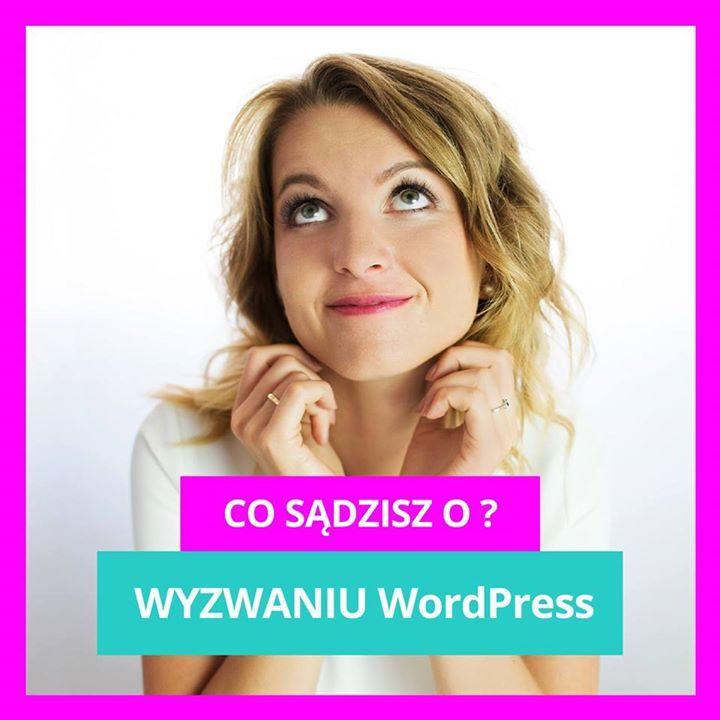 """Wyzwanie WP już zakończone! Jeśli podobało Ci się wyzwanie to wpadnij na moją grupę  olag.pl/grupa-fb   gdzie możesz zostawić swoją opinię.   Nie udało Ci się nadrobić wszystkich zadań z wyzwania WP? Chcesz nielimitowany dostęp do niego? Napisz w komentarz """"Więcej Wordpressa """"!"""
