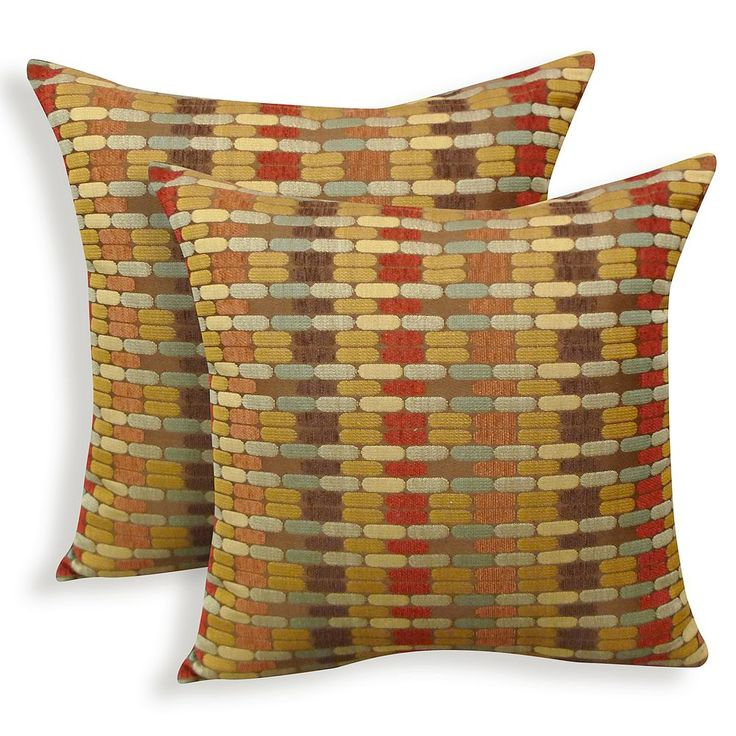 Othello 2-piece Jacquard Geometric Throw Pillow Set, Other Clrs