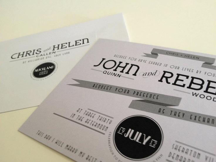 Wedding Invite: www.marquisdesign.co.nz