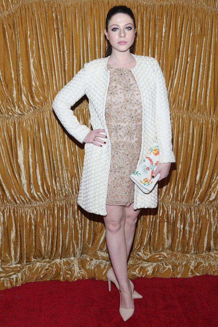 Pin for Later: Les Stars Sont au premier Rang Pour la Fashion Week de New York Michelle Trachtenberg A la présentation Alice + Olivia.