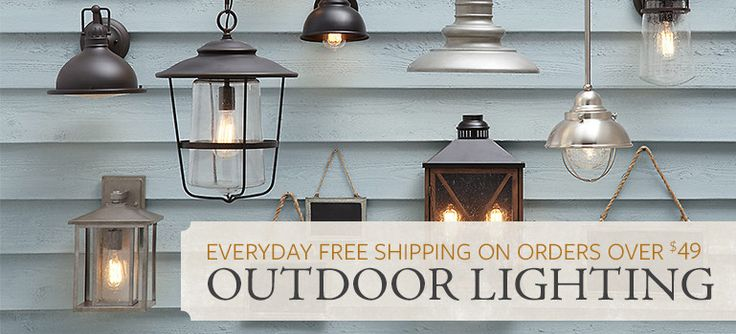 Outdoor Lighting - Category: Outdoor Hanging Lights, Landscape Lighting, Post Lanterns, Outdoor Flush Mounts & Wall Lights, Landscape Lanterns & Torches, Brand: Birch Lane   Birch Lane