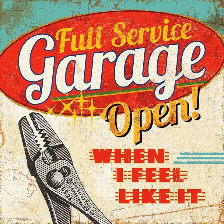 Masterpiece Art - Mancave I Full Service Garage, $18.30 (http://www.masterpieceart.com.au/mancave-i-full-service-garage/)