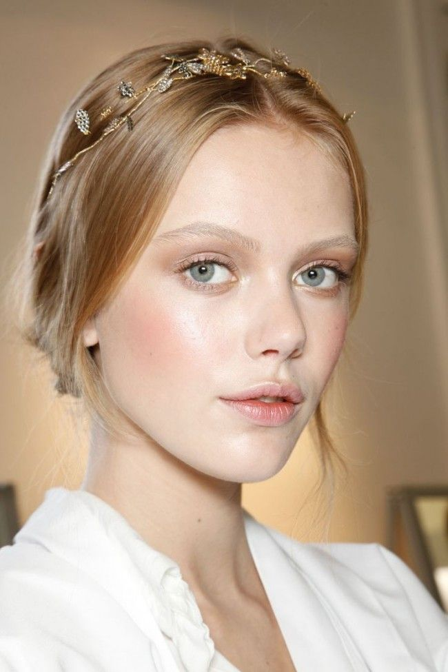 strobing look for pale skin