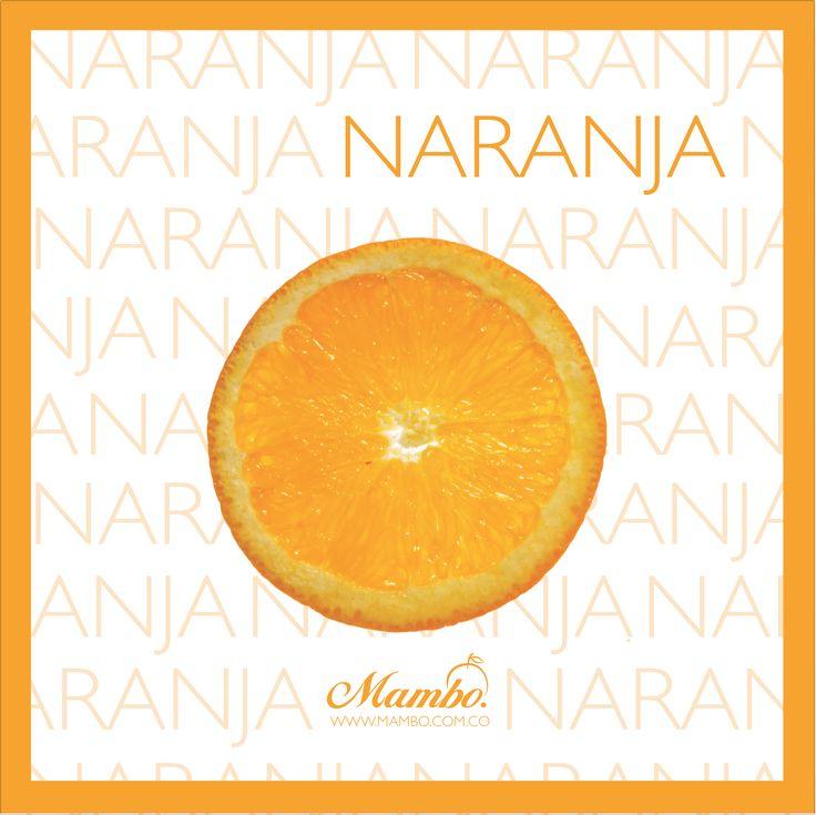 Naranja, vitamina C al instante. Frutas y verduras Mambo Cartagena de Indias www.mambo.com.co