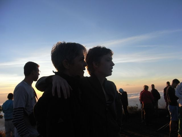 Getting to the top of Mt Batur for sunrise … is often time of reflection. #grateful http://www.sharingbali.com/retreats/