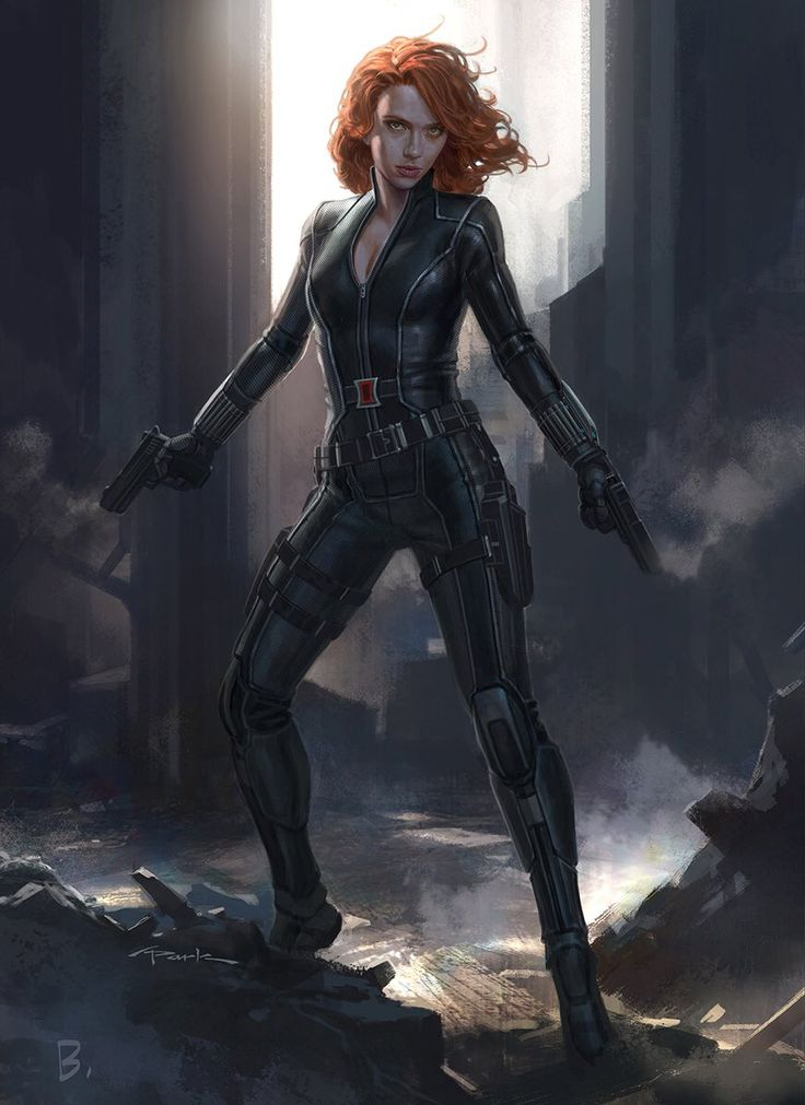 Captain America: Civil War Concept Art | Black Widow by Andy Park - Visit now to…
