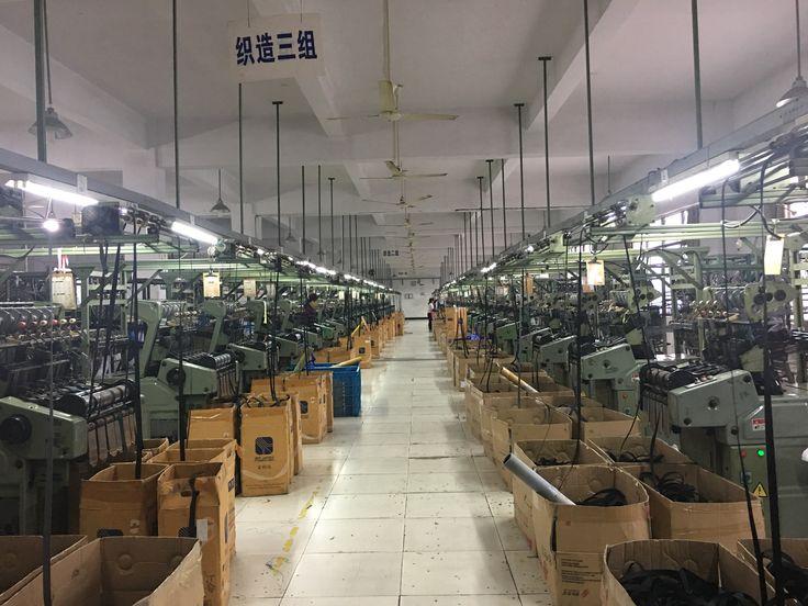 Shanghai Jingye webbing workshop