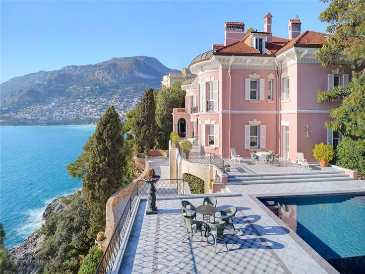 cote d'azur belle epoque villa -