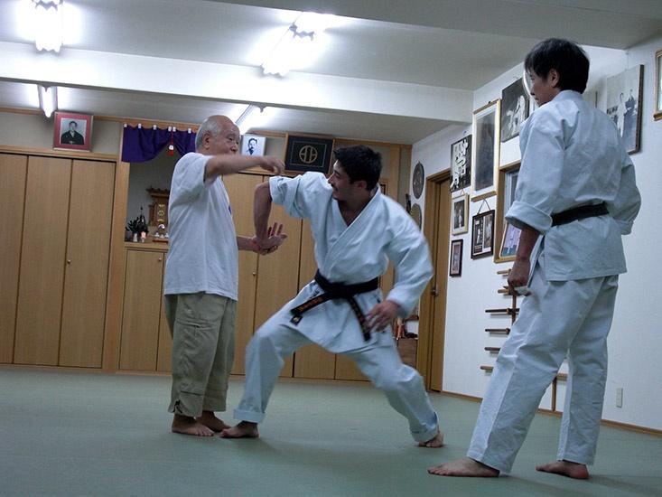 Soke Mabuni Kenei - Osaka 2012
