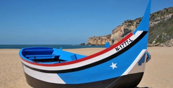 Nazaré-PortugalPortugal's most picturesque fishing village
