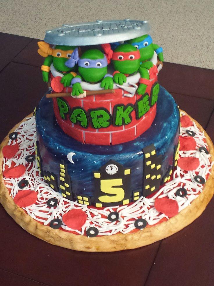 Ninja Turtle Cakes on Pinterest  Tmnt Cake, Ninja Turtle Birthday ...