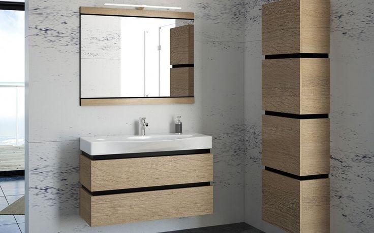 Zestaw mebli łazienkowych Viva produkcji Devo Oak Bardolino Grey