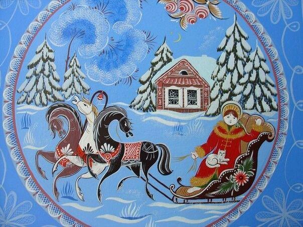 Мастерская городецкой росписи Купавушка