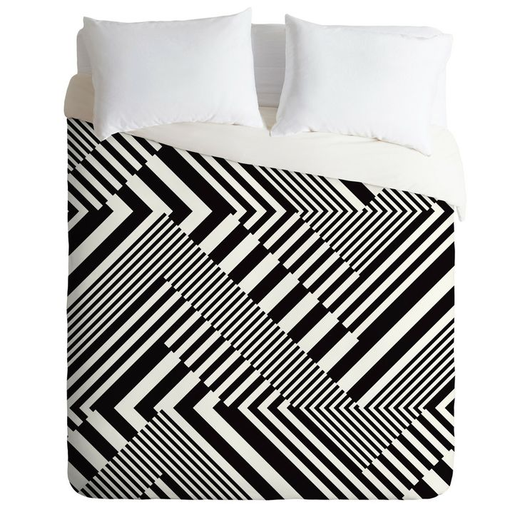 Juliana Curi Blackwhite Stripes Duvet Cover – DENY Designs