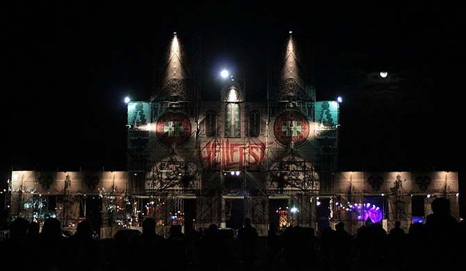 Hellfest, also called Hellfest Summer Open Air, is a French music festival specialized in extreme music, held annually in June in Clisson in Loire-Atlantique. I... Get more information about the Hellfest 2017 on Hostelman.com #event #France #music #travel #destinations #tips #packing #ideas #budget #trips #festival #hellfest #2017