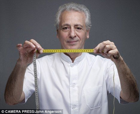 New theory: Nutritionist and dietitian Dr Pierre Dukan may be the answer to many people's prayers