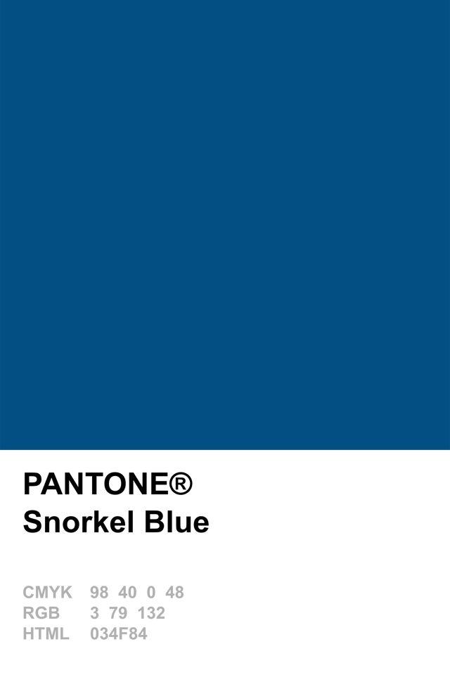 Pantone 2016 Snorkel Blue