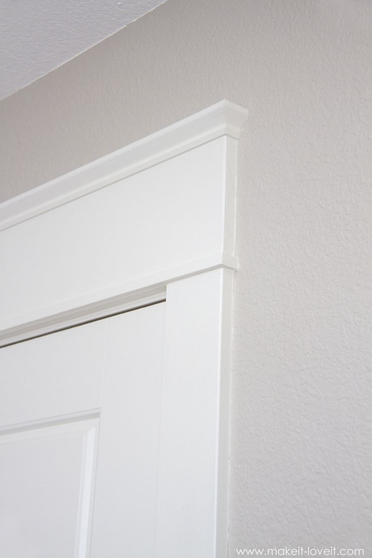 25 Best Ideas About Door Frame Molding On Pinterest