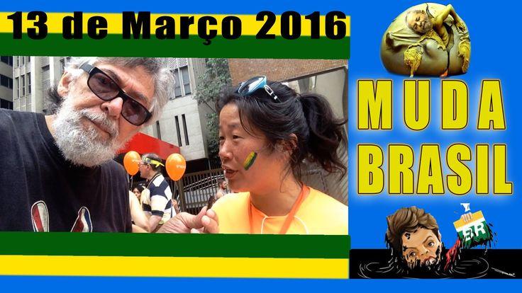 13 de Março Manifestação da Jararaca Simbolo de Lula - Paulista
