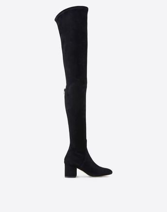 Are you looking for Valentino Garavani Over The Knee Stretch Boot? Find out all the details at Valentino Online Boutique and shop designer icons to wear.