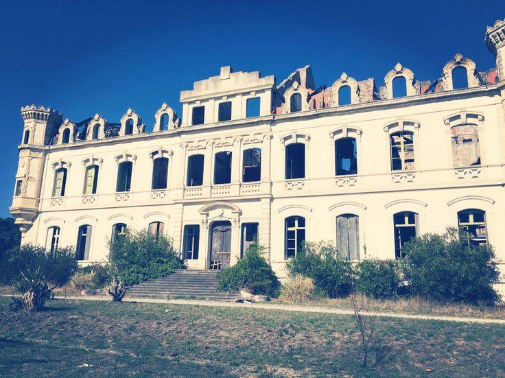 Заброшенное поместье Valgros, город Bram