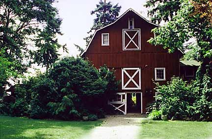 So close and yet so far. The Betty MacDonald farm on Vashon Island, where she wrote The Egg and I, among others. A cozy getaway any time of year.