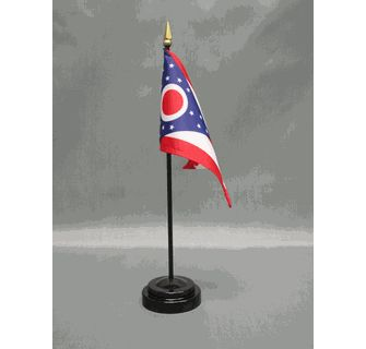 Miniature Ohio Flag