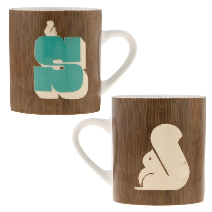 Alphabet Mugs from Cubic. These have Amanda written all of them